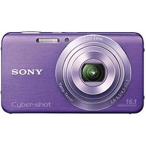 Sony DSC-W630 V Appareil photo numérique 16,1 Mpix Violet
