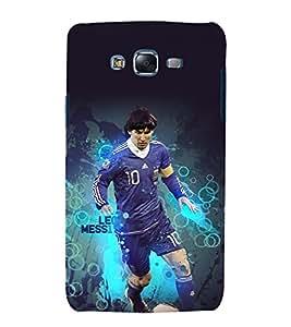 printtech Football Player Messi Back Case Cover for Samsung Galaxy Quattro i8552 / Samsung Galaxy Quattro Win i8552