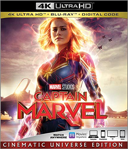 4K Blu-ray : Captain Marvel (2 Discos)