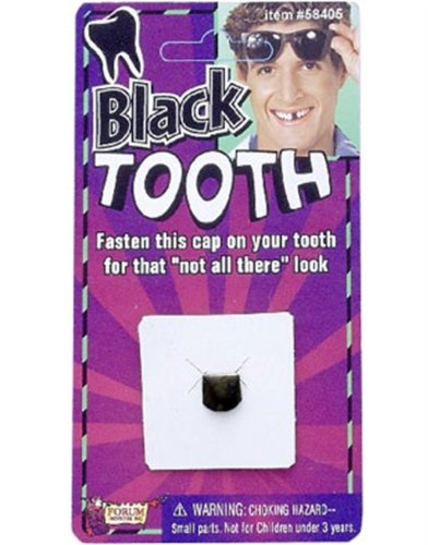 Black Tooth Cap Accessory (Black Tooth Cap compare prices)