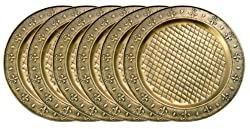 Old Dutch Charger Plate, 13-Inch, Set of 6