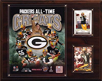 NFL Green Bay Packers All-Time Greats Photo Plaque