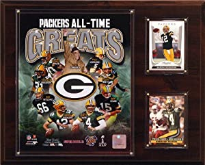 NFL Green Bay Packers All-Time Greats Photo Plaque by C&I Collectables