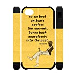 The Great Gatsby Iphone 4/4s Case NewOne Novel Film Series The Great Gatsby Yellow Silicon Case Back Cover Protective Cases for Iphone 4/4s