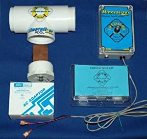 Electronic Copper Silver Ion Purifier Mineralizer For Up To 25 000 Gallon Pool