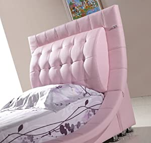 designer kinderbett s0ro 90x200 rosa k che. Black Bedroom Furniture Sets. Home Design Ideas
