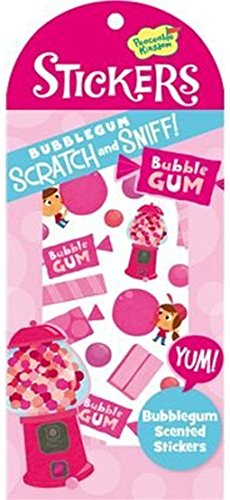 Peaceable Kingdom Scratch and Sniff Bubblegum Scented Sticker Pack