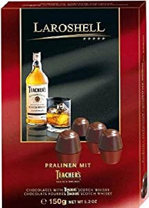 Laroshell Chocolates with Teacher's Scotch Whisky ( 5.2 oz / 150 g )