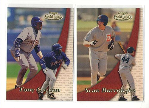 2000 Topps Gold Label Class 3 - SAN DIEGO PADRES Team Set 2000 Topps Gold Label