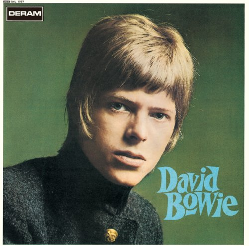 Original album cover of David Bowie by David Bowie