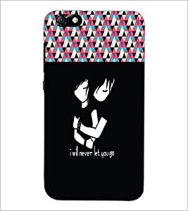 PrintDhaba Quote D-5475 Back Case Cover for HUAWEI HONOR 4X (Multi-Coloured)