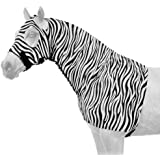 Tough 1 Spandex Mane Stay Hood with Full Zipper in Fun Prints