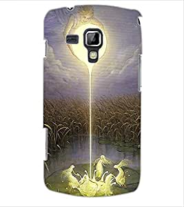 ColourCraft Angels Design Back Case Cover for SAMSUNG GALAXY S DUOS S7562