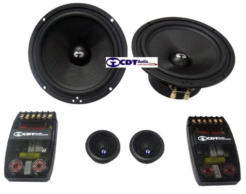 "Es-610X470 - Cdt Audio Eurosport 6.5"" 2 Way Component Speakers"