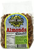 Maisie Janes Bagged Dry Roasted Almonds, 16-Ounce (Pack of 3)