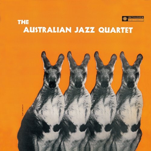 Original album cover of The Australian Jazz Quartet by The Australian Jazz Quartet