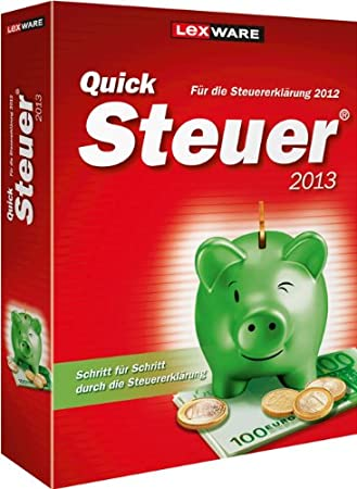 QuickSteuer 2013 (für Steuerjahr 2012)