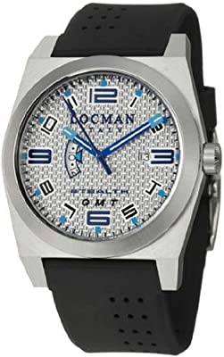Locman Sport Stealth GMT Men's Quartz Watch 200SLKVL
