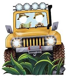 Jungle Room Decor - Jeep Cardboard Standup