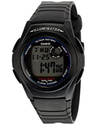 Casio Digital Multi Dial Men Watch - (F-200W-1AUDF)