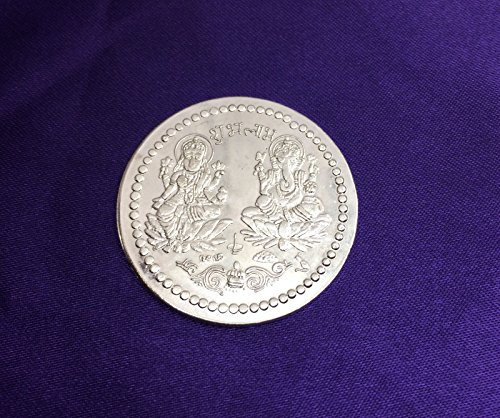shree-lakshmi-ganesh-puja-coin-lord-ganesha-goddess-laxmi-antique-white-metal