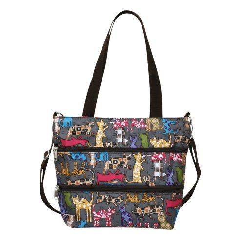 ililily-pattern-light-weight-medium-shoulder-strap-front-zipped-pocket-hand-bag