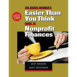 Easier than you think : Guide to nonprofit finances (Amazon.ca)