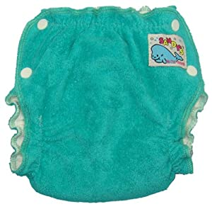 Mother-Ease Newborn Cloth Diaper - Aqua