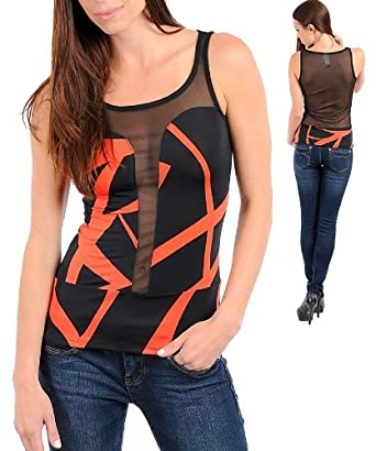 Abstract mesh top