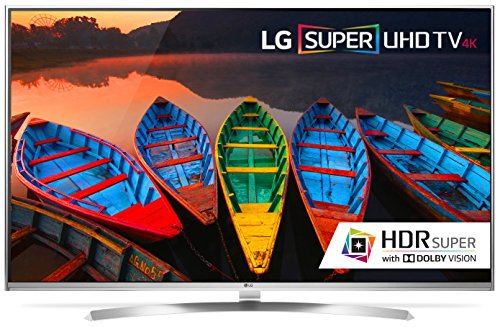 "60UH8500 60"""" Energy Star 4K Super UHD Smart LED TV with webOS 3.0  TruMotion 240Hz  2 3D Glasses  HDR Super with Dolby Vision  Quantum Display and 4K Upscaler:"" 684855"