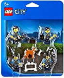 LEGO City Police Officers & Dog Minifigure Accessory Pack 850617 by LEGO