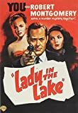 Lady in the Lake 1947 Robert Montgomery (region 2)