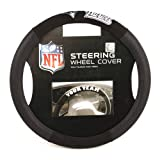 51bFUqpexCL. SL160  NFL New England Patriots Poly Suede Steering Wheel Cover