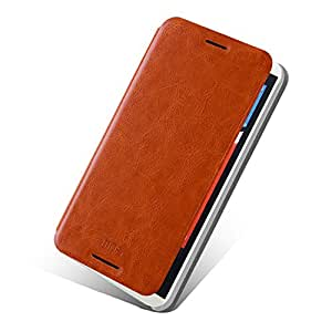 MOFI Stand Leather Flip Case Cover for HTC Desire 816 - Brown