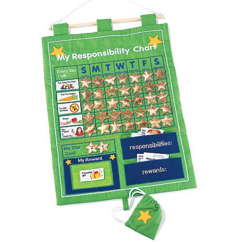 My Responsibility Reward Chart Wall Hanging