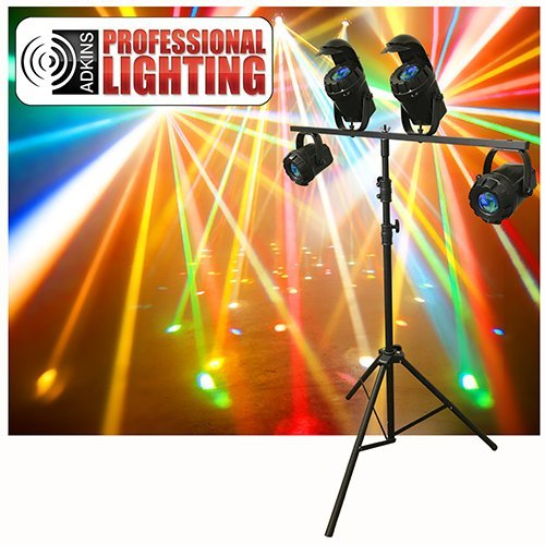 Micro Moon Burst flower DJ LED Lighting System Package - Adkins Professional Lighting