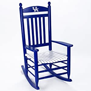 Amazon Com Kentucky Wildcats Painted Wood Rocking Chair