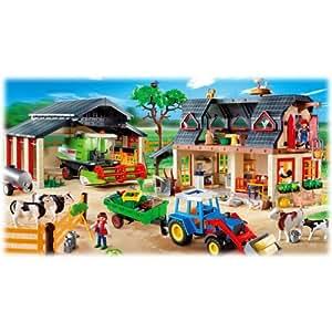 Playmobil 4055 XXL Ferme Set De Luxe