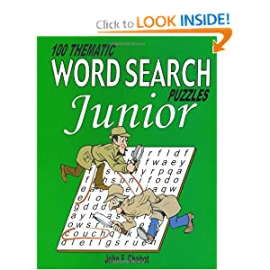 100 Thematic Word Search Puzzles Junior - John Chabot