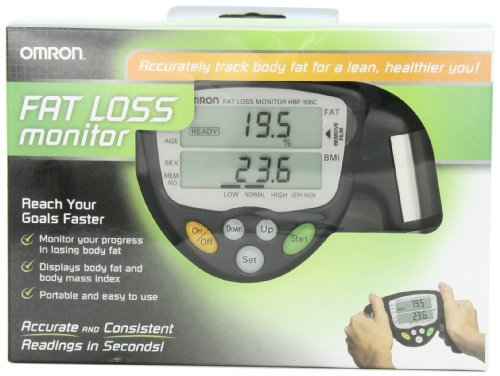 Omron HBF-306C Fat Loss Monitor, Black