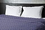 Ebydesign Geometric Duvet Cover, King, 1Spring Navy