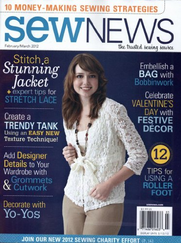Sew News (1-year auto-renewal)