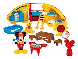Amazon.com: Micky Mouse Club House Mickey's Camper by Mattel: Toys
