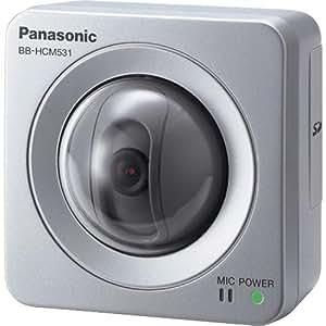 Panasonic BB-HCM531A Outdoor Pan/Tilt PoE Security Network Camera (Silver)