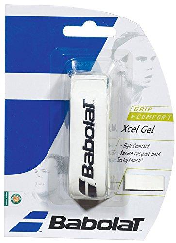 Babolat Xcel Gel Basisgriffbänder, Weiß, One Size