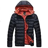 YFFUSHI ダウンジャケット メンズ 軽量 全4色 ダウンコート カジュアル  無地 ライトダウン フード付き  防寒 スリム ファッション 大きいサイズあり M-5XL きれいめ 新着 快適