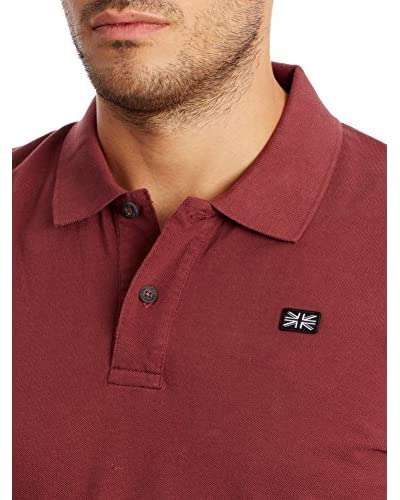 Pepe Jeans London Polo Haslam [Rosso Scuro]