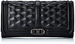 Rebecca Minkoff Love Clutch, Black, One Size