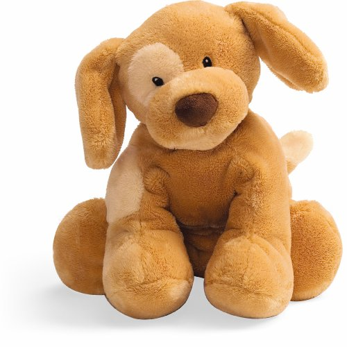Gund Baby Spunky Plush Puppy Toy Small, Tan