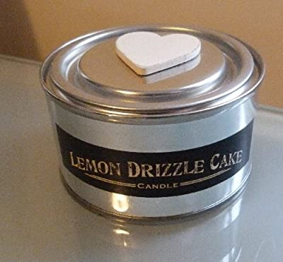 East of India Lemon Drizzle Cake Candle Tin